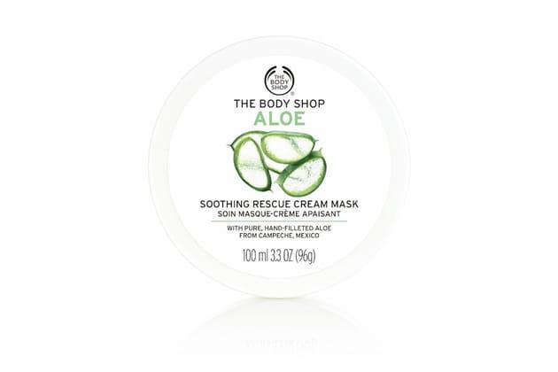 Le masque crème apaisant Aloès de The Body Shop