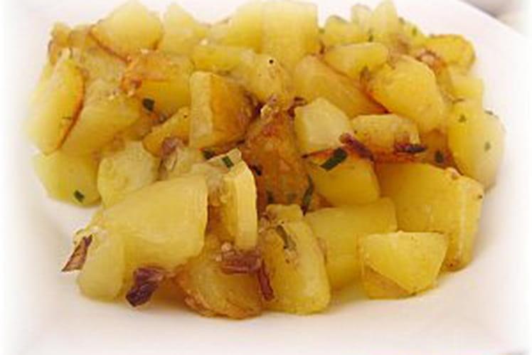 Pommes de terre sautées au vinaigre