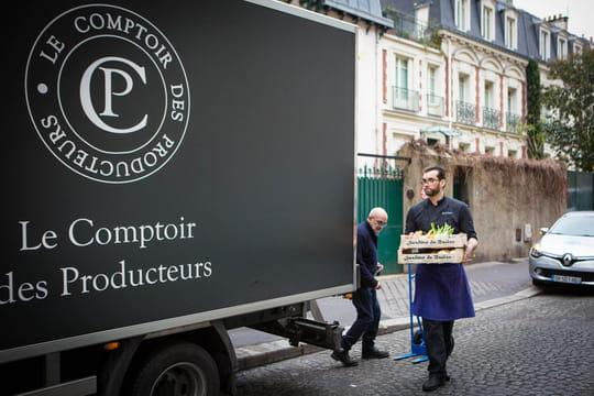 Comptoir des Producteurs : un food truck pour les grandes tables parisiennes
