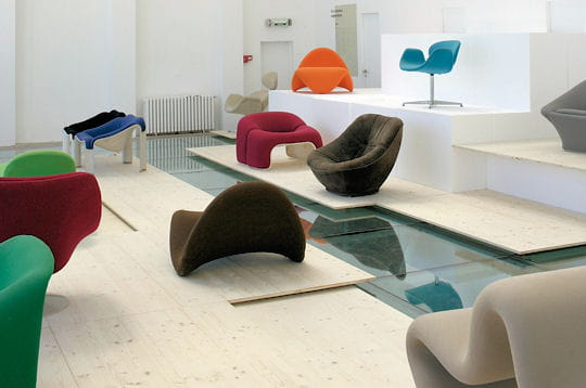 Exposition Pierre Paulin Superdesigner