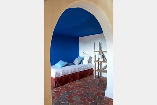 Alcôve bleu Majorelle