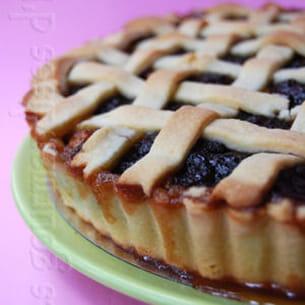 tarte d'hiver aux pommes et aux poires