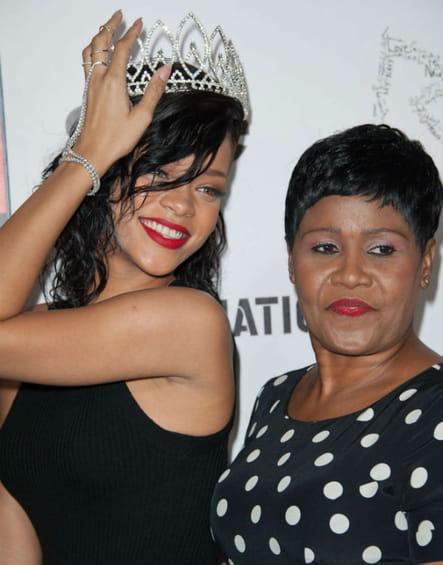 Rihanna et sa mère Monica Braithwaite