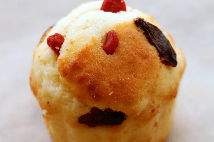 Muffins aux baies de Goji