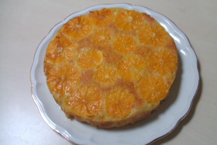 Moelleux à l'orange et rhum