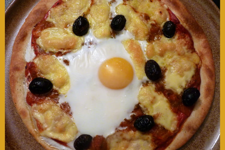 Pâte à pizza express