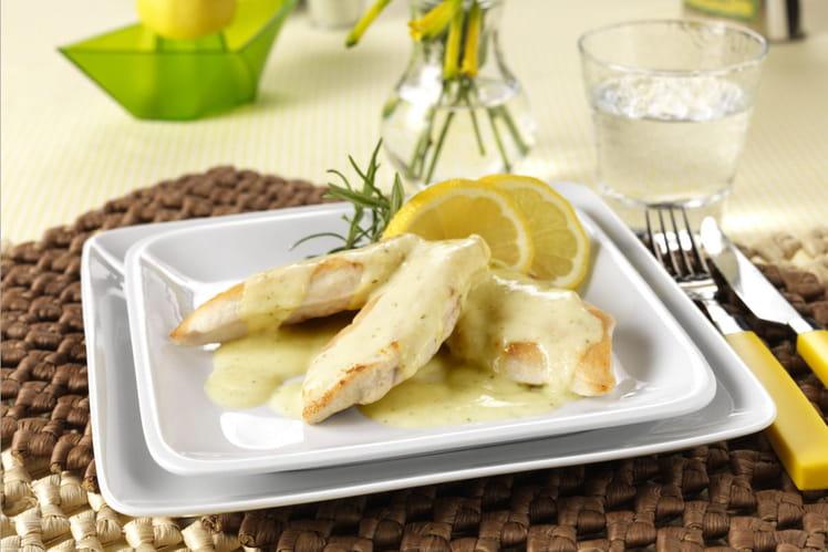 Poulet à la sauce Kiri ® moutarde