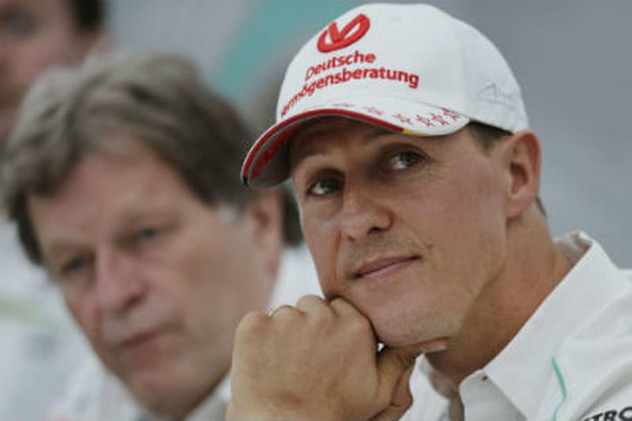 Michael Schumacher, paralysé et en fauteuil roulant