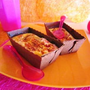 clafoutis de noisettes aux brugnons et abricots