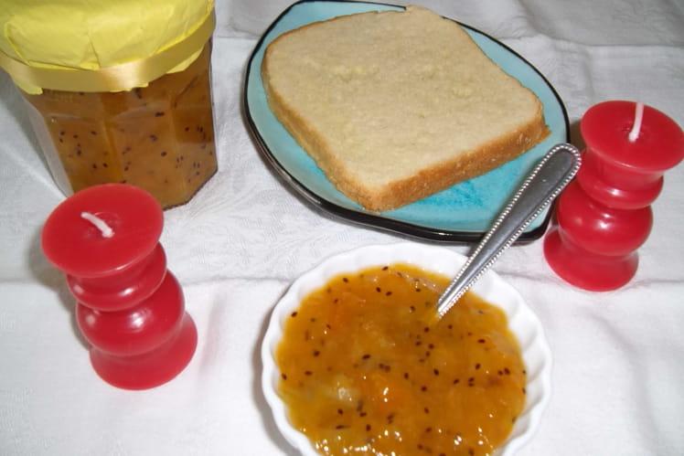 Confiture abricots et kiwis