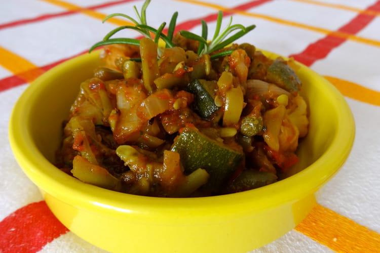 Poêlée de légumes façon Caponata