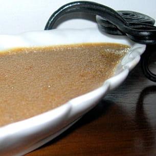 crème brûlée à la réglisse