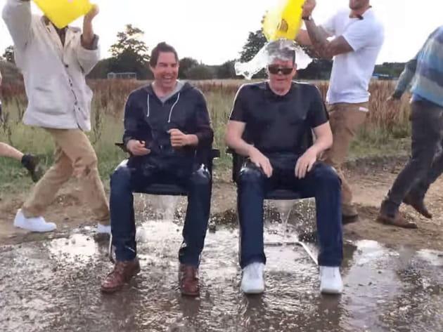 Tom Cruise Chris McQuarrie Ice Bucket