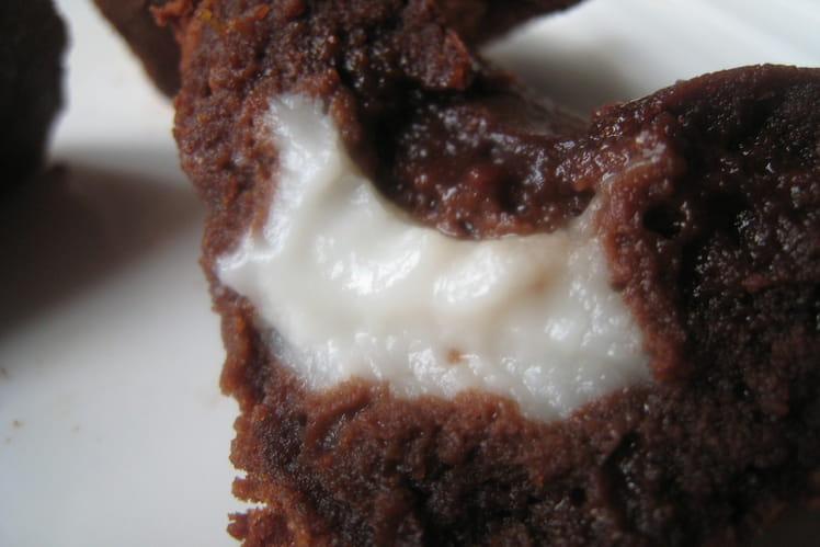 Moelleux au chocolat et son coeur coulant coco