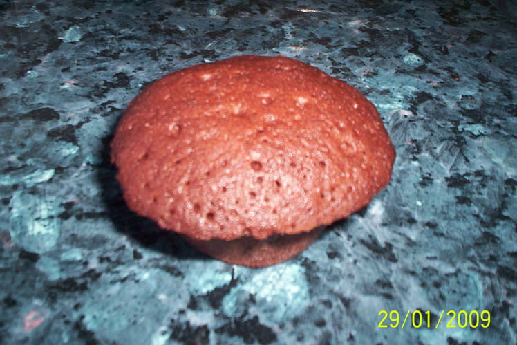 Muffins 100% chocolat