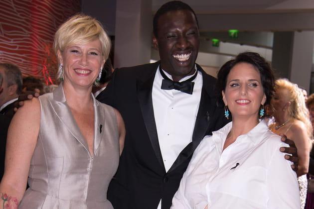 Maïtena Biraben, Omar Sy et Hélène