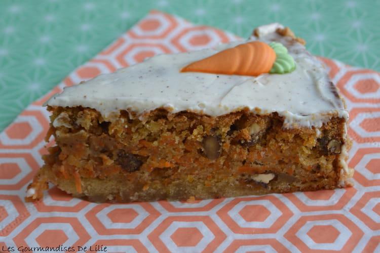 Carrot cake aux épices et son glaçage au Philadelphia