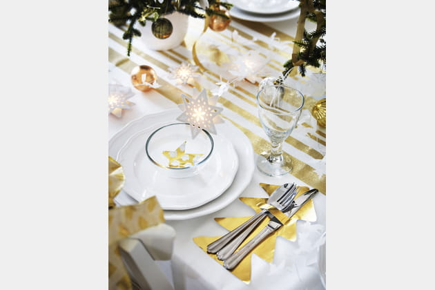 Déco de table Noël IKEA
