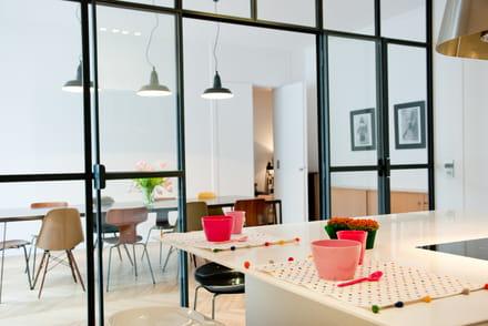 6 solutions pour ouvrir la cuisine - Image Cuisine Ouverte Sur Salon