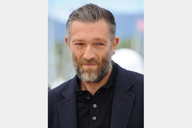 Vincent Cassel avec une barbe