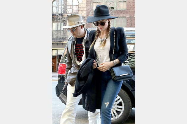 """Amber Heard et son """"Varenne"""" de Lancel"""
