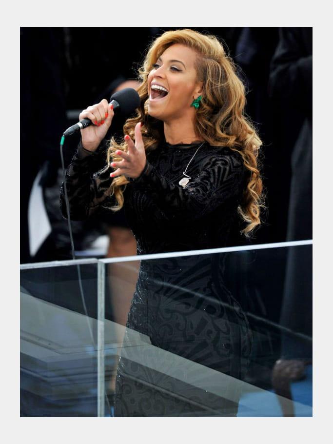 Beyoncé, diva à voix