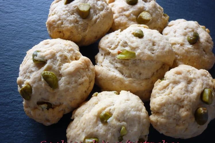 Cookies chèvre et pistache
