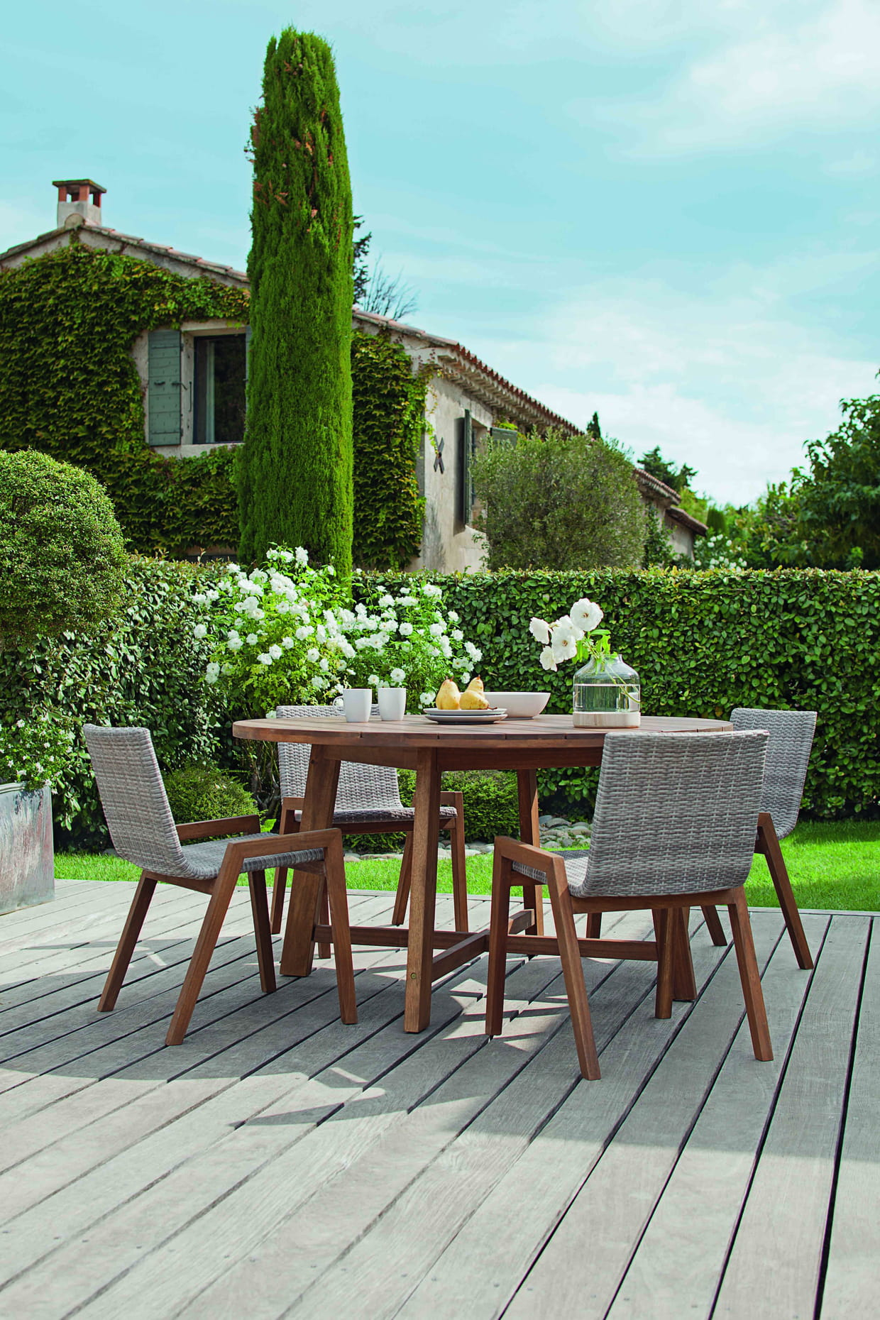 Salon de jardin Azalée chez Jardiland