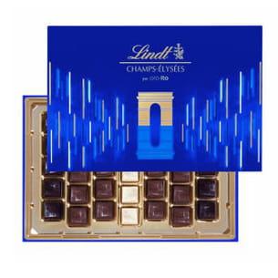 chocolats champs elysées de lindt
