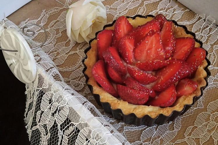 Tarte fraise romarin