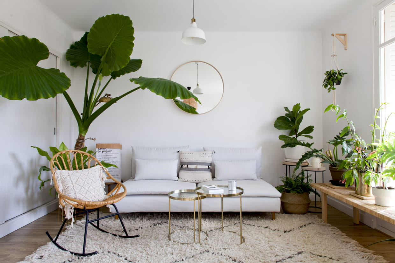 Décoration Chambre Taupe Et Beige salon blanc : les plus beaux exemples pour un intérieur lumineux