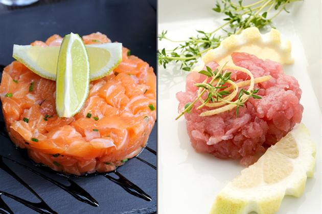 Tartare de saumon ou tartare de thon?
