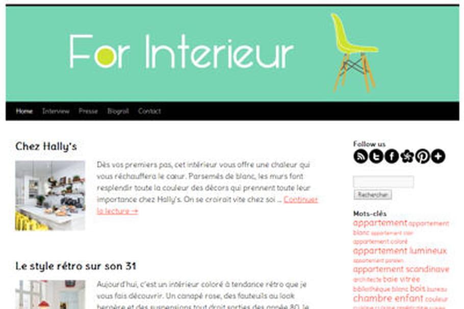 Le blog du moment : For Interieur