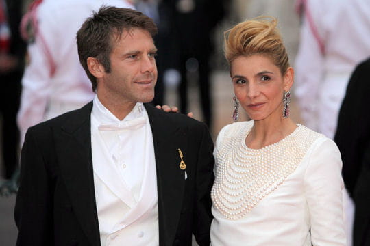Clotilde Courau et Emanuele de Savoie
