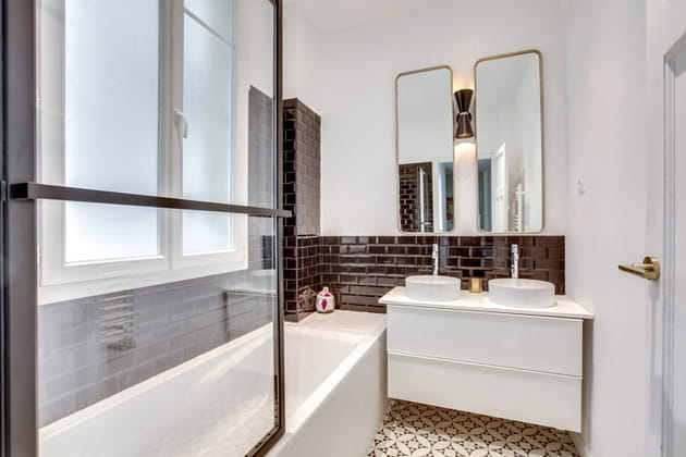 Après: une salle de bains pleine de personnalité