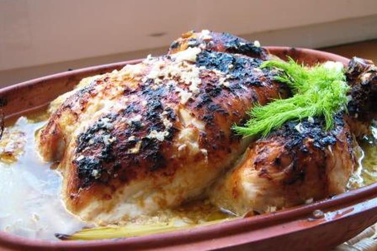 Poulet tandoori sans marinade