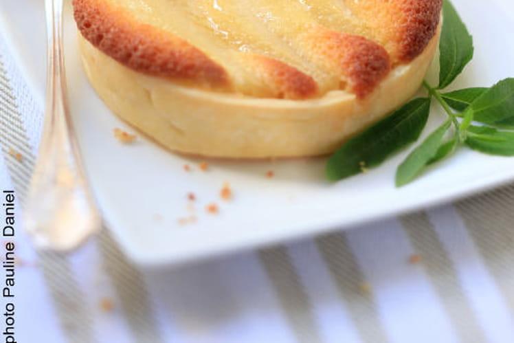 Tartelette Poire / Crème d'Amande