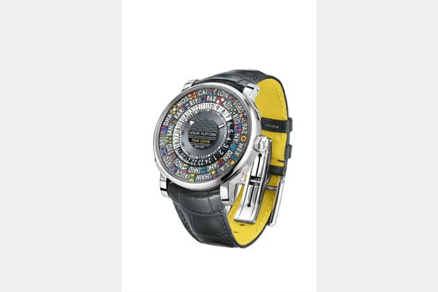 """Montre """"Escale Time Zone"""" de Louis Vuitton"""