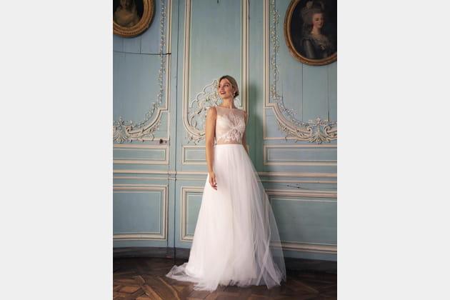 Robe de mariée Eugénie, Marie Laporte 2020