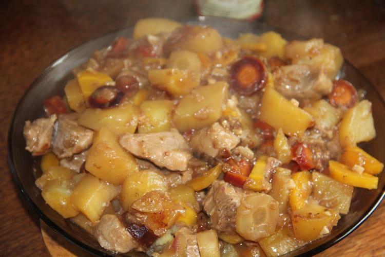 Sauté de porc au cidre