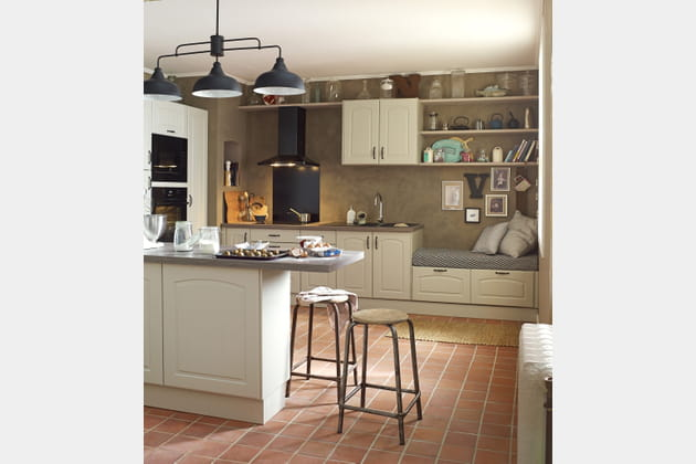cuisine modulable delinia par leroy merlin. Black Bedroom Furniture Sets. Home Design Ideas