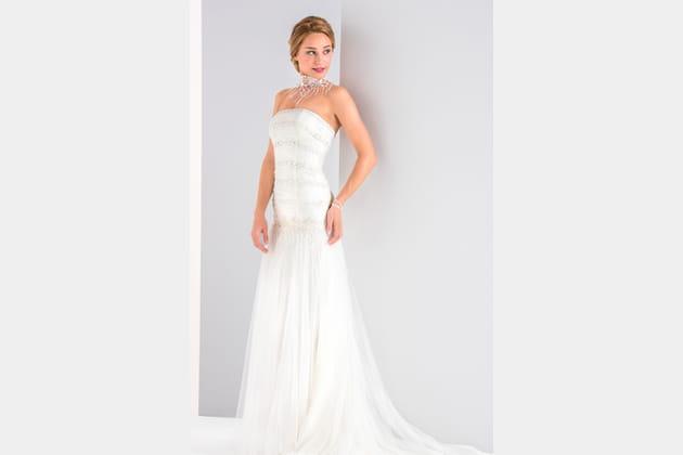 Robe de mariée Pampille, Eglantine Créations
