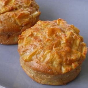 muffins légers aux pommes