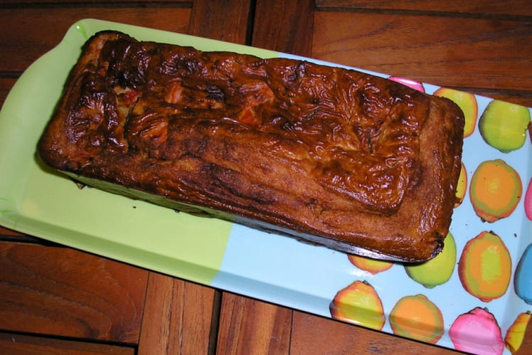 Cake Gorgonzola-tomate