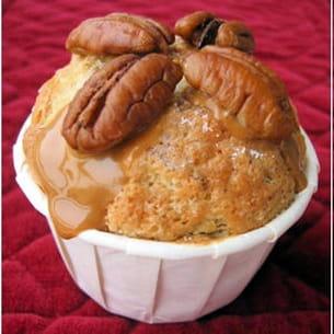 muffins noix de pécan et sirop d'érable