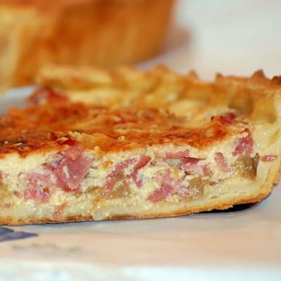 tarte aux endives et bacon