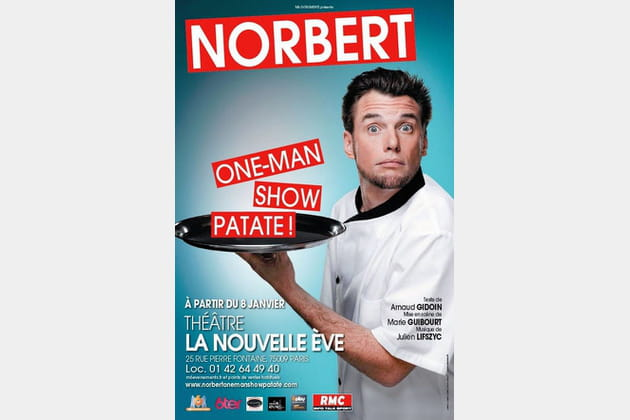Norbert Tarayre one man show patate