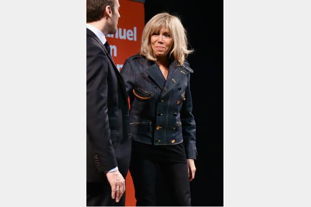 Brigitte Macron le 9mars2017