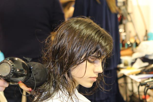 Chevelure fraîchement lavée et séchage express