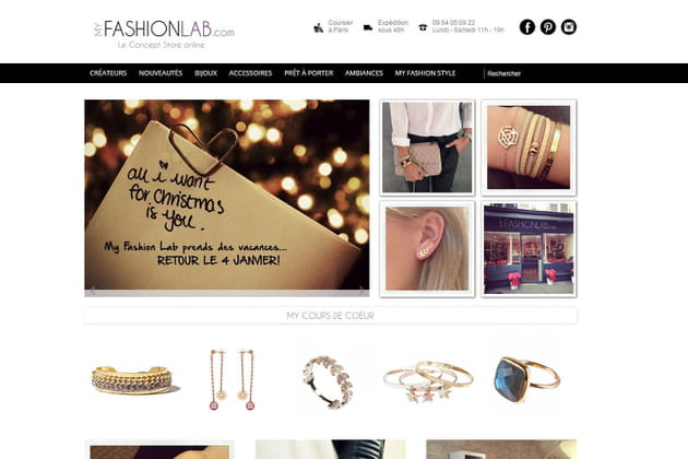 Le e-shop de My Fashion Lab